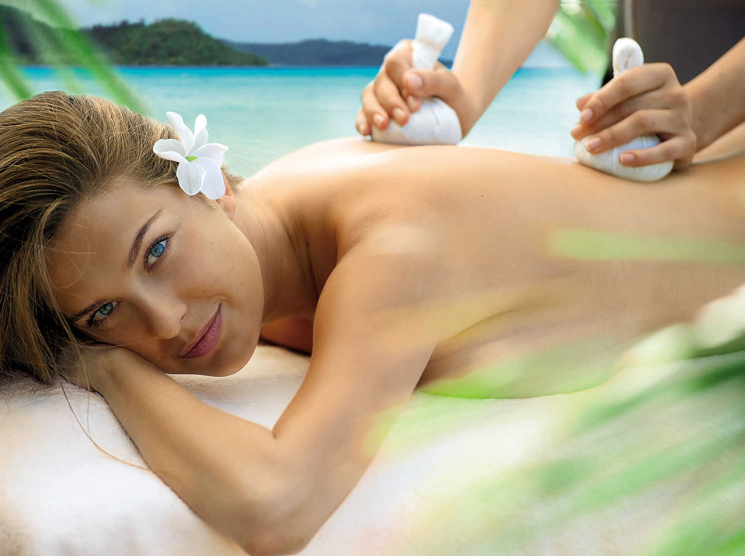 Escale à Bora Bora massage corps